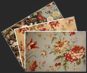 Designer Curtain Fabric Avon