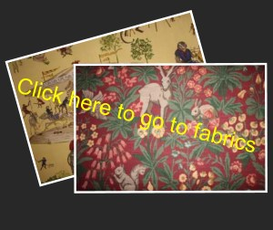 Designer fabric and curtain fabric  Powys