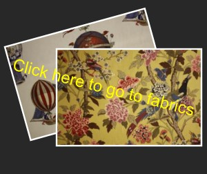 Designer fabric and curtain fabric  Clwyd