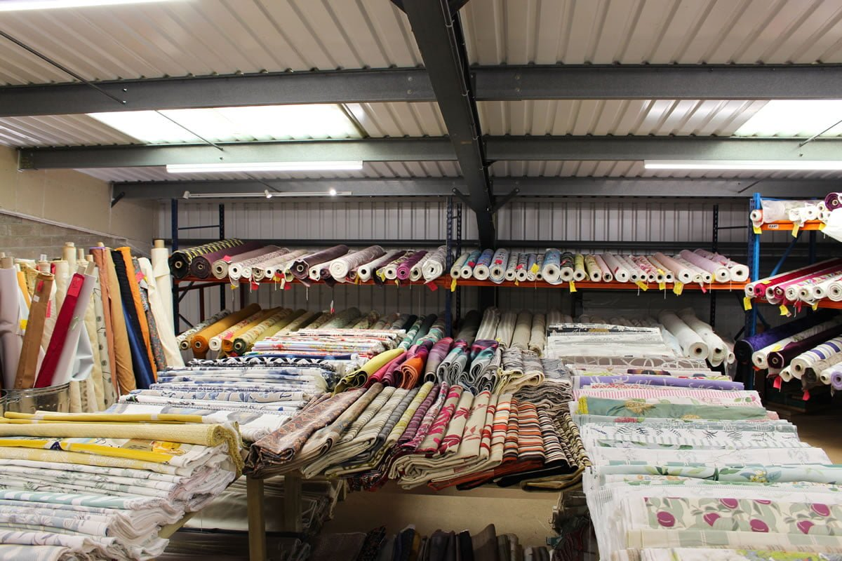 Designer Fabrics near Totnes