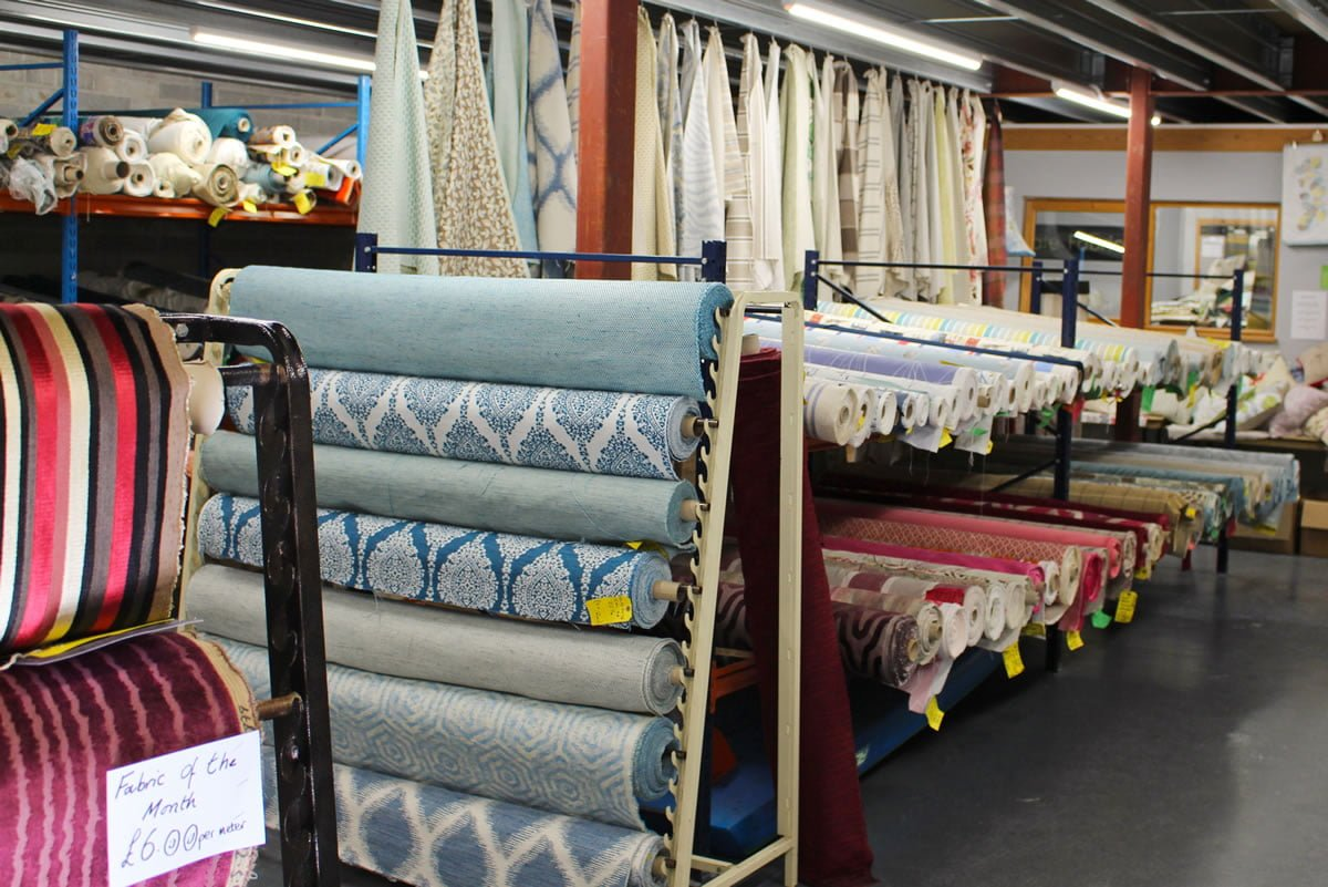 Discounted Designer Fabrics near Ashburton