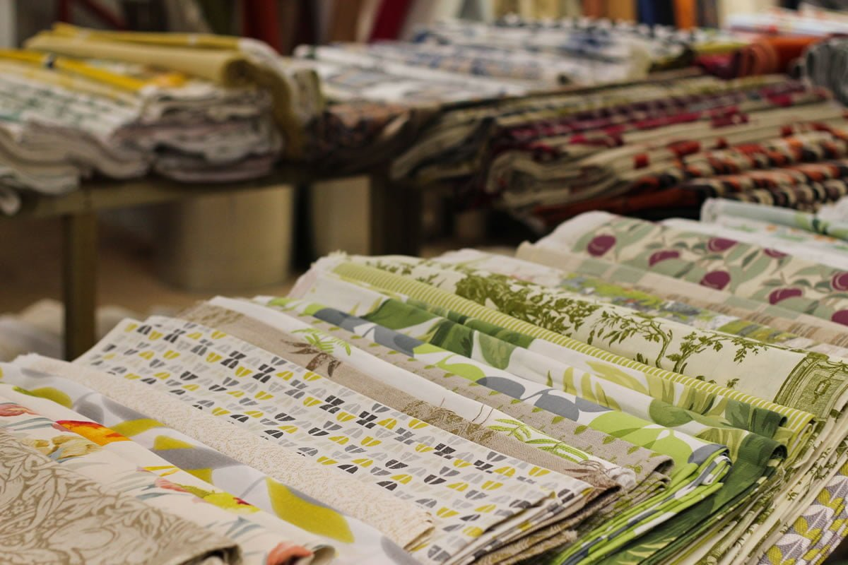 Ultimate Fabrics Warehouse Interior Fabrics at Discounted Prices near Newton Abbott