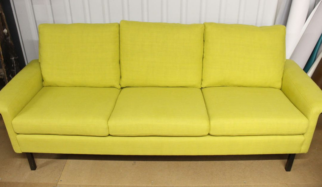 Lichen colour sofa